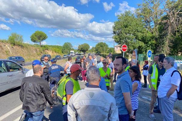 Une cinquantaine de motards réunie ce matin à Clapiers - 3 juillet 2020