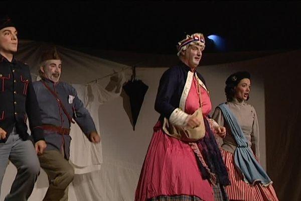 Le thème de l'édition 2018 du festival Offenbach est celui des militaires dans le chant, à l'occasion du centenaire de l'armistice de 1918