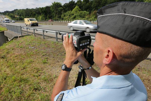 Les principales infractions recensées sont des excès de vitesse.