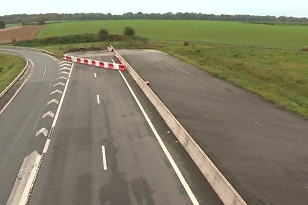 Les travaux d'élargissement de la route nationale 2 traînent depuis des années.