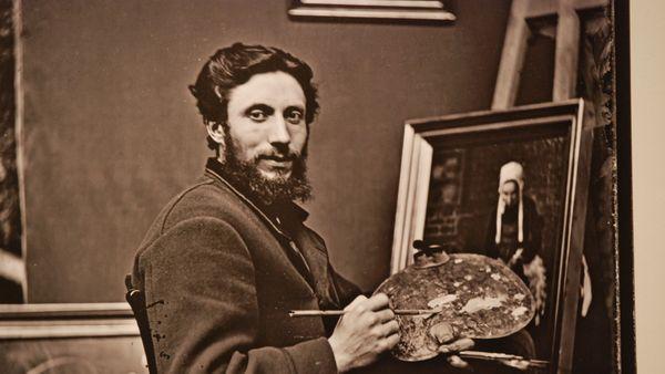Louis-Marie Le Leuxhe (1847-1896) était commerçant au Faouët, mais aussi peintre et sans doute photographe