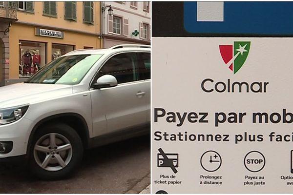 À Colmar (Haut-Rhin), les médecins payent le stationnement comme tout le monde.
