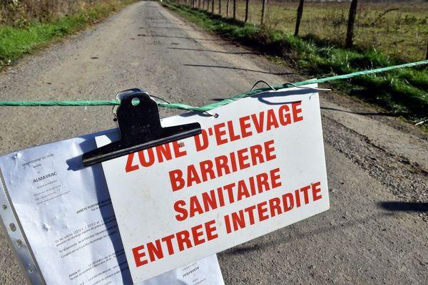 Avec la grippe aviaire, des zones de contrôle temporaires sont mises en place dans certaines régions de France