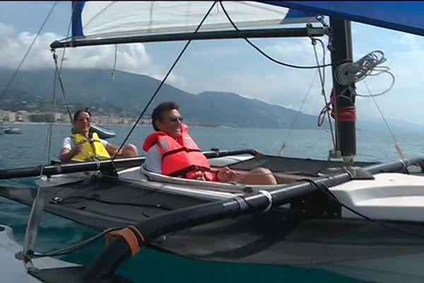 68 personnes du bassin mentonnais ont profité de cette journée en mer.