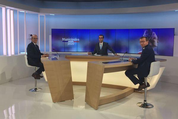 Débat avant le second tour des municipales 2020 avec les candidats de Lons-le-Saunier