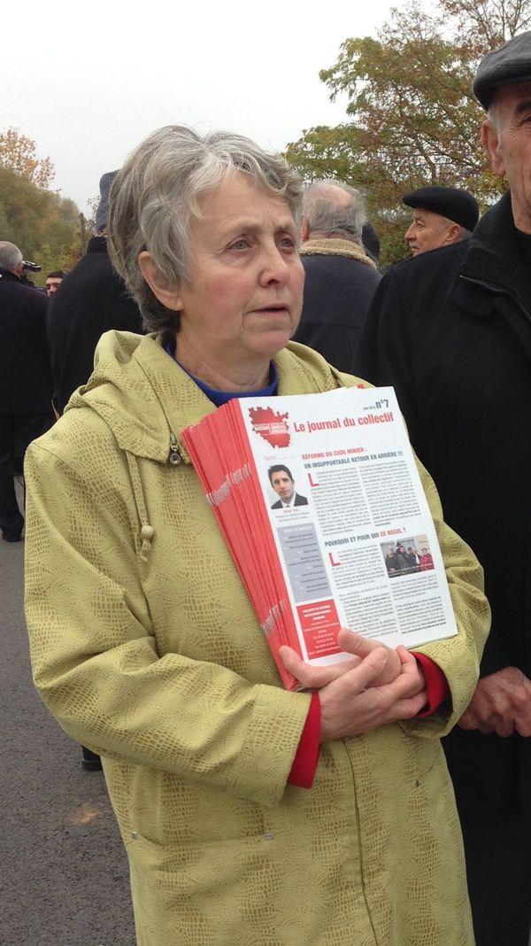 Joëlle Pirih, la présidente de l'association CLCV de Rosbruck