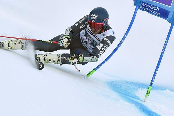 Mathieu Faivre arrive 5è au slalom géant de Garmisch-Partenkirchen