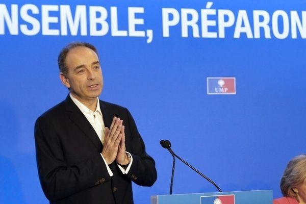 Jean-François Copé, lors d'un séminaire de l'UMP à Paris le 23 mars 2013
