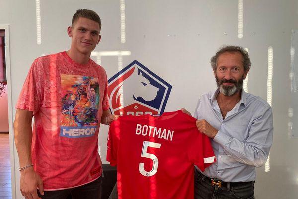 Sven Botman a signé un contrat de 5 ans au LOSC.