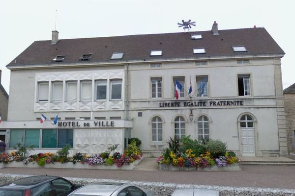 La mairie de Talant. (archives)