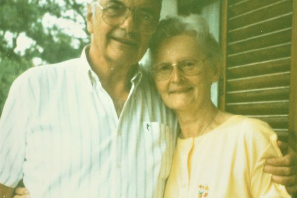 Les époux Wanlin en 1997.