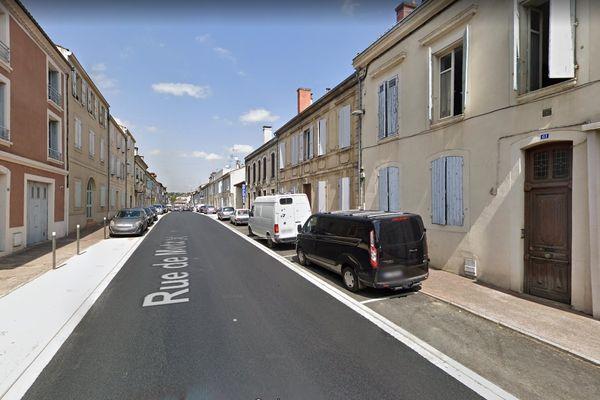 L'incendie s'est déclaré rue de Metz à Auch dans le Gers