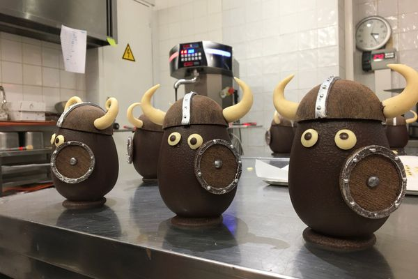 Le chocolat permet l'expression d'une grande créativité