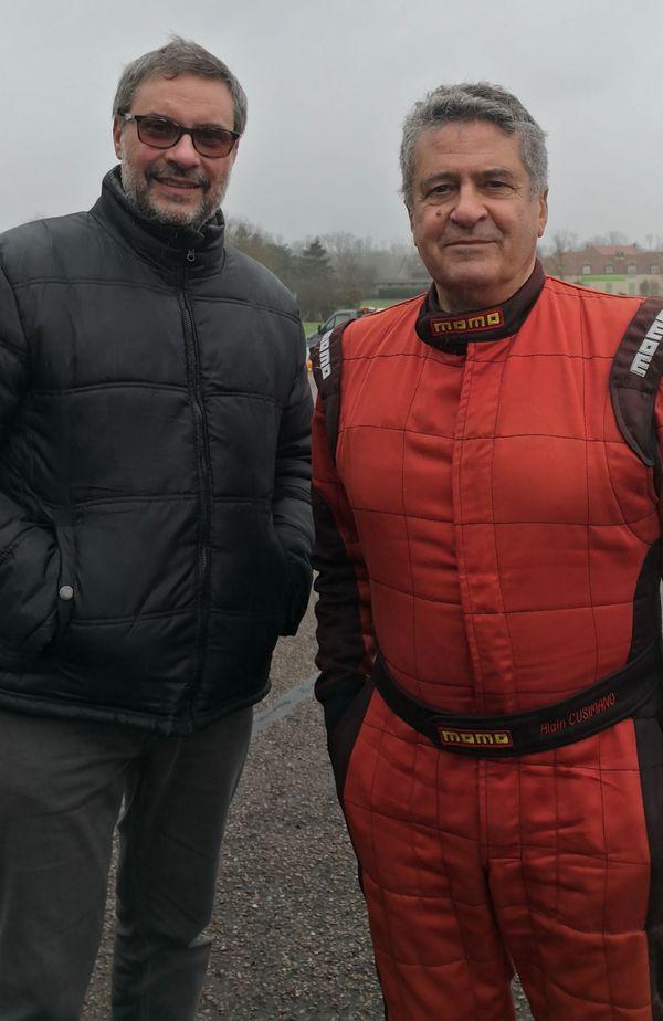 Daniel Cusimano, le frère d'Alain, l'accompagne et le soutient dans son projet.