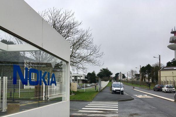 le site de Nokia à Lannion