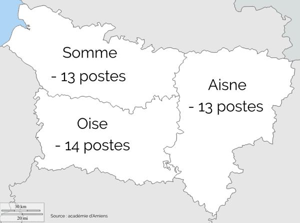 Dans l'académie d'Amiens, 40 postes seront supprimés à la rentrée 2020 dans le premier degré.