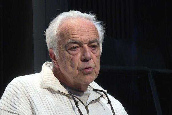 Michel Bruzat, l'emblématique fondateur et directeur du Théâtre de La Passerelle de Limoges.
