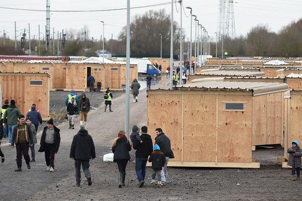 Le camp de la Linière, a été construit aux normes humanitaires internationales par MSF. (illustration)
