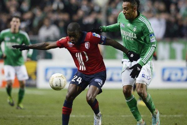 Rio Mavuba, face à Saint-Etienne le 15 janvier 2013.