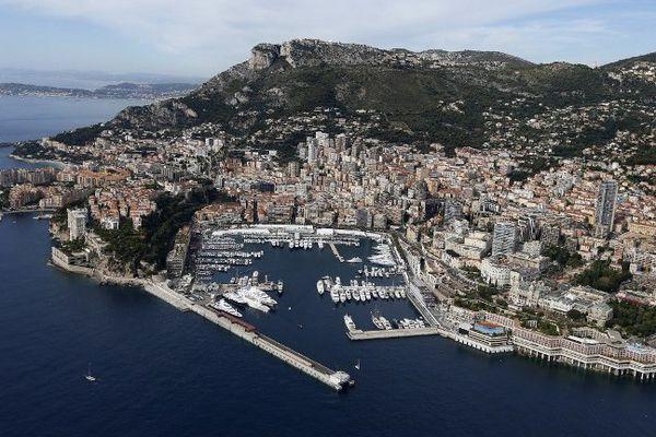 Monaco (Vue aérienne - archive)