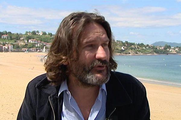 Frédéric Beigbeder à Saint-Jean-de-Luz pour la présentation de son film