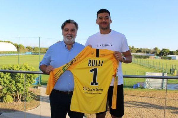 Montpellier - Geronimo Rulli prêté au MHSC par la Real Sociedad - 14 août 2019.