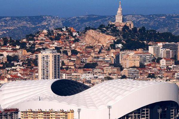 le stade Orange Vélodrome de Marseille