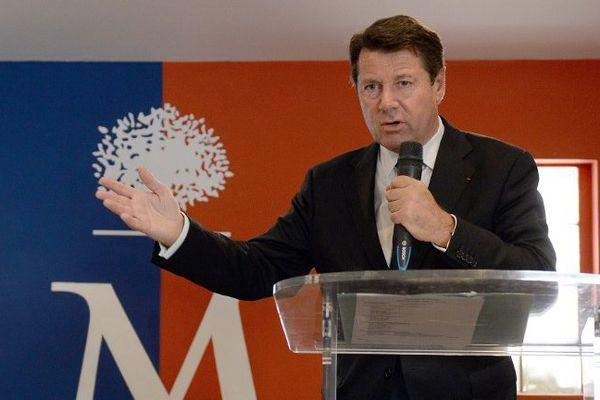 Le député UMP Christian Estrosi.