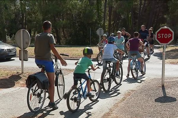 Les pistes cyclables qui font la liaison entre les villages de l'île de Ré seront fermées