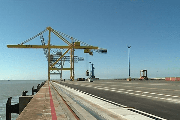 Le port du Verdon devrait voir doubler le trafic conteneurs d'ici à 3 ans.