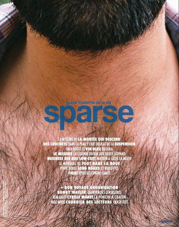 La couverture du 16e numéro de Sparse.