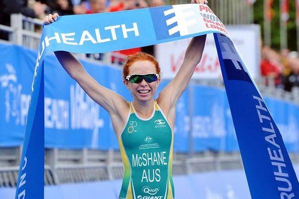 Charlotte Macshane est devenue jeudi 12 septembre championne du Monde de Triathlon en moins de 23 ans