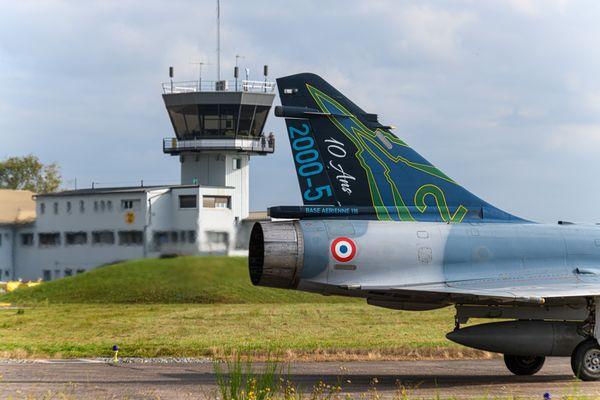 Le Mirage 2000-5F fête cette année ses 10 ans de présence sur la Base aérienne 116 de Luxeuil