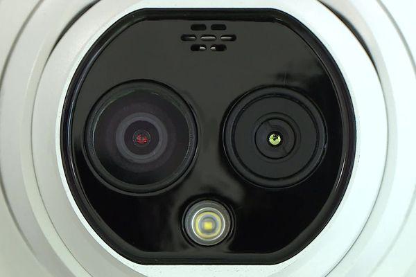 Mudaison (Hérault) - une caméra à double objectif, surveillance et thermique - 8 avril 2020.