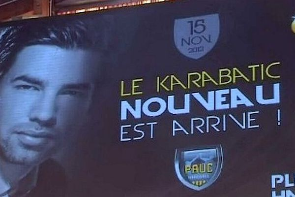 Aix-en-Provence (Bouches-du-Rhône) - Luka Karabatic nouvelle star du club - 16 novembre 2012.
