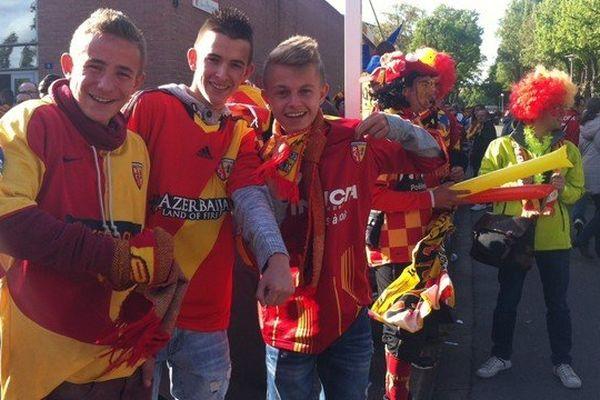 Les supporteurs lensois dans les starting blocks pour fêter la montée en Ligue 1