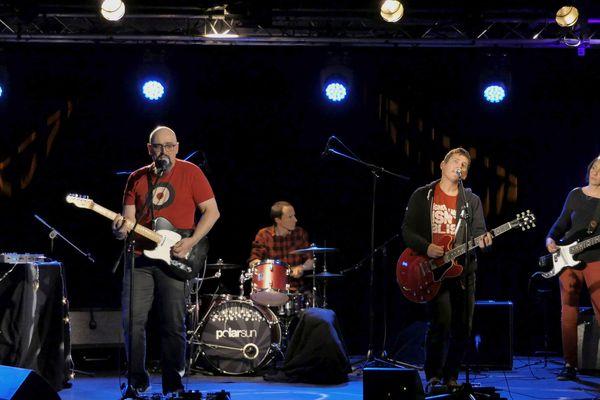 Le groupe pop dijonnais Polarsun
