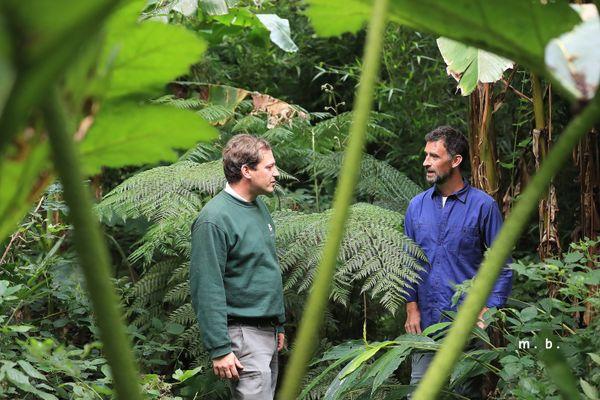 Charles Boulanger, botaniste du Jardin Jungle Karostachys