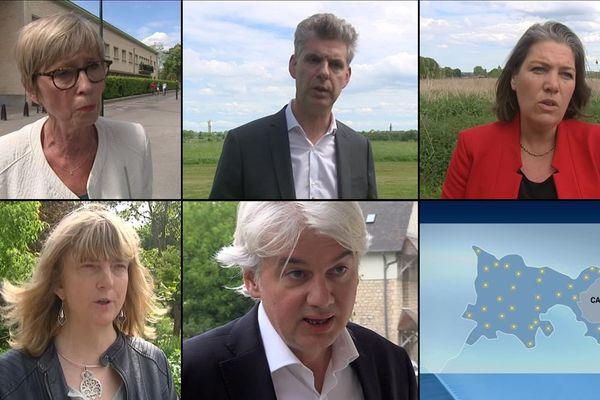 Marie-Jeanne-Gobert, Eric Vève, Sonia de la Provôté, Karine Gualbert et Fabrice le Vigoureux sont candidats aux législatives dans la première circonscription du Calvados