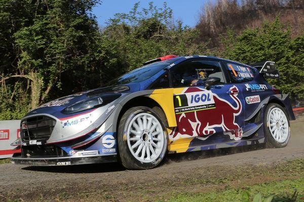 WRC/Tour de Corse - Sébastien Ogier en patron des séances d'essai jeudi 6 avril 2017