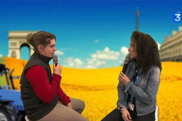 Rencontre: Lison rêve de son exploitation agricole