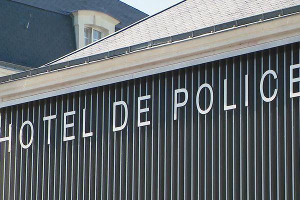 Le commissariat de police du Mans