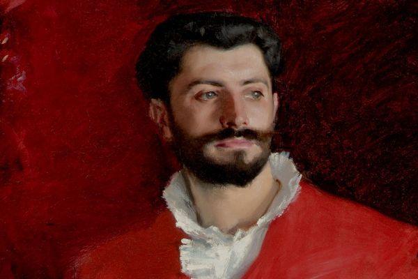 Samuel Pozzi chez lui, par John Singer Sargent, Musée Hammer (Los Angeles).