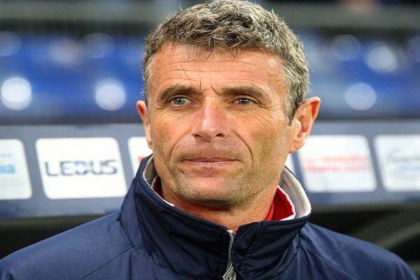 Bernard Blaquart, entraîneur du Nîmes Olympique - 2016