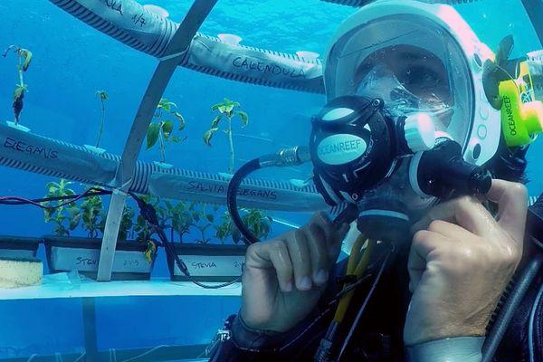 Gianni Fontanesi, inventeur du jardin de Nemo
