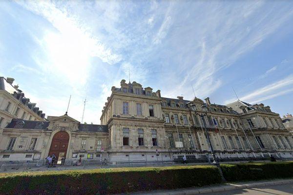 L'hôtel de préfecture de l'Isère à Grenoble.