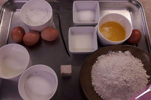 Les ingrédients de la tarte au Libouli