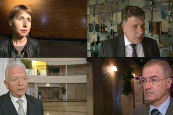 Quatre candidats alsaciens