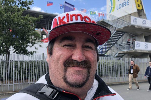Damien vient pour la deuxième fois au 24h du Mans