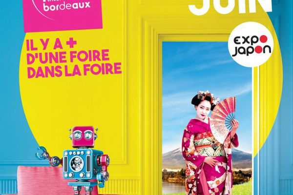 Affiche de la Foire Internationale de Bordeaux 2019.